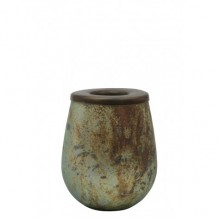 Kinzo Antique Green Tealight Holder 10x12.5cm