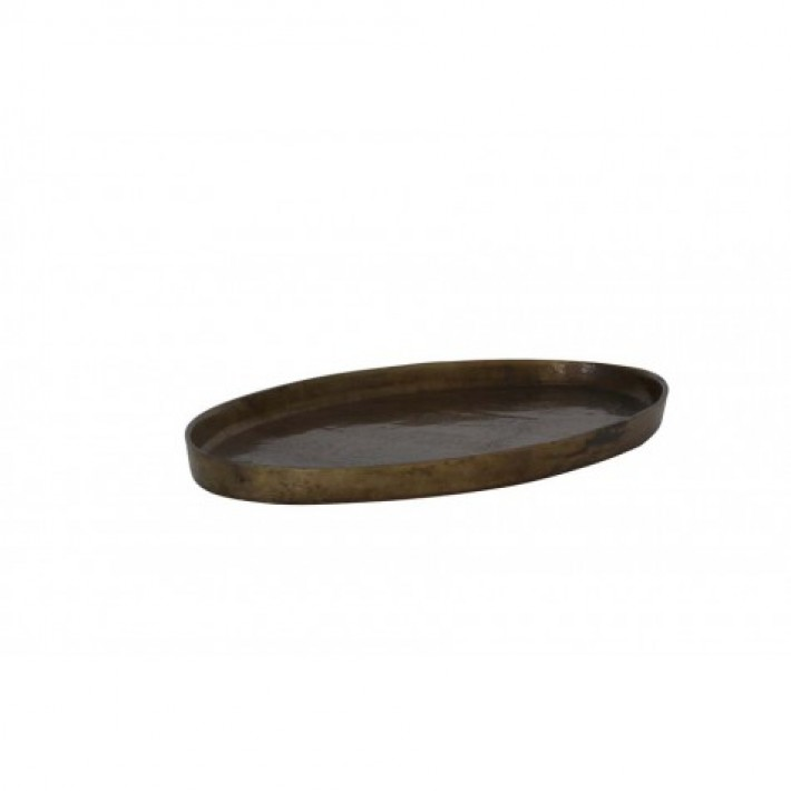 Cabo Bronze Burned Dish 50x25x3.5cm