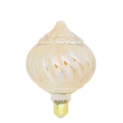 Baroque LED Bulb 12.5x17.5cm-Straight Filament