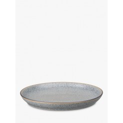 Denby Studio Grey Coupe Dinner Plate, 26cm