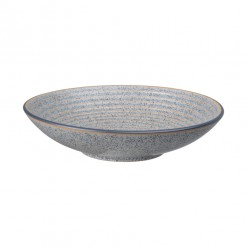 Denby Studio Grey Medium Ridged Bowl-25.5cm