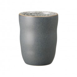 Denby Studio Grey Handleless Mug-Charcoal