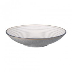 Denby Studio Grey Large Ridged Bowl-31cm