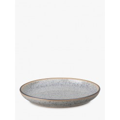 Denby Studio Grey Small Coupe Plate, 17cm
