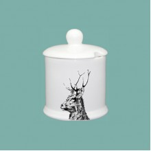 Imperial Stag Condiment Jar