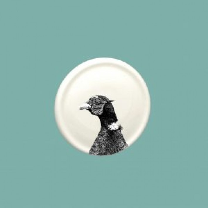 Pheasant China Coaster