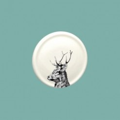 Imperial Stag China Coaster