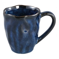 Coutler Blue Ceramic Mug Small