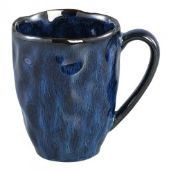 Coutler Blue Ceramic Mug Large