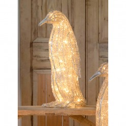 LED Wire Standing Penguin-Small