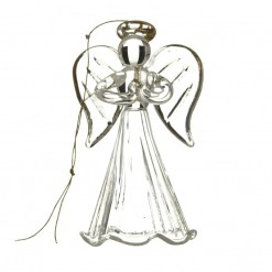 Small Fluted Dress Angel in Prayer