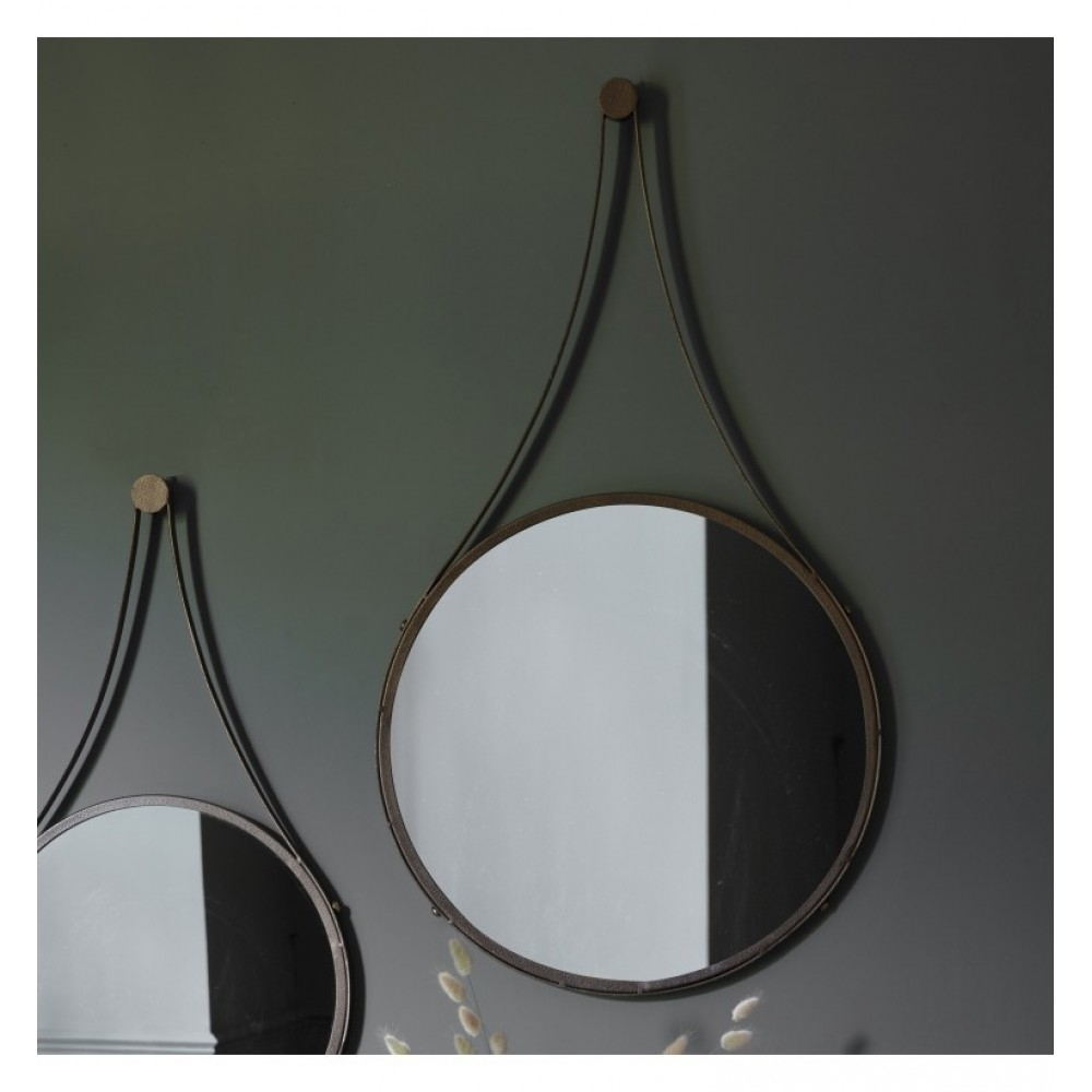 Broadway Round Mirror Wall Art Decorative Mirrors Round Mirrors