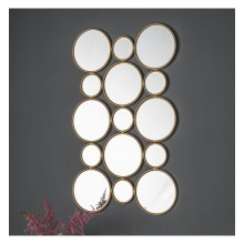 Lincoln Circles Mirror
