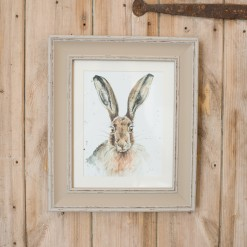 Framed Lily Hare