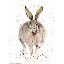Framed Heather Hare