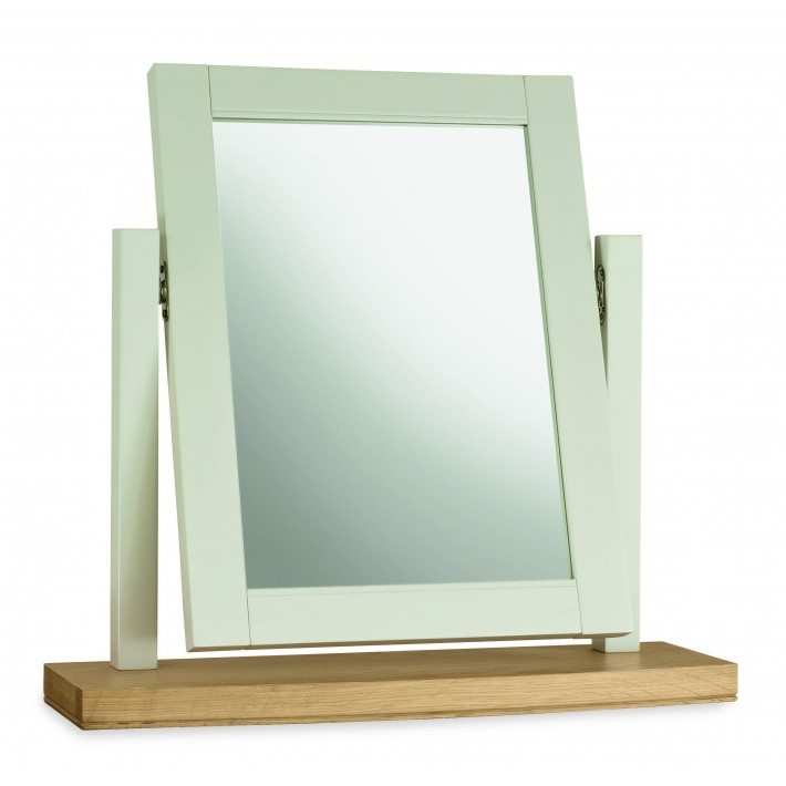 Hampstead Cotton & Oak Vanity Mirror