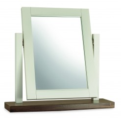 Hampstead Cotton & Walnut Vanity Mirror