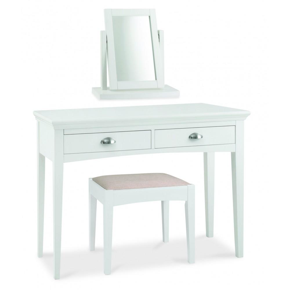 hampstead white vanity mirror dressing table mirror