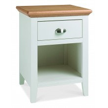 Hampstead Two Tone 1 Drawer Bedside