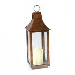 Small Tonto Lantern-Burnished Copper