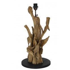 Arbanasi Wood Lamp Base 30x63-75cm