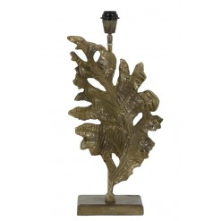 Fall Raw Antique Bronze Lamp Base