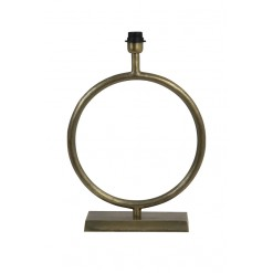 Liva Raw Antique Bronze Lamp Base-Large