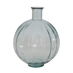 Palloci Vase-Clear Glass-33x42cm
