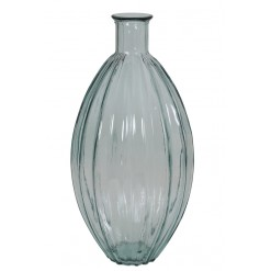 Palloci Vase-Clear Glass-27x59cm