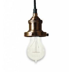 Prohibition Antique Brass Pendant Light