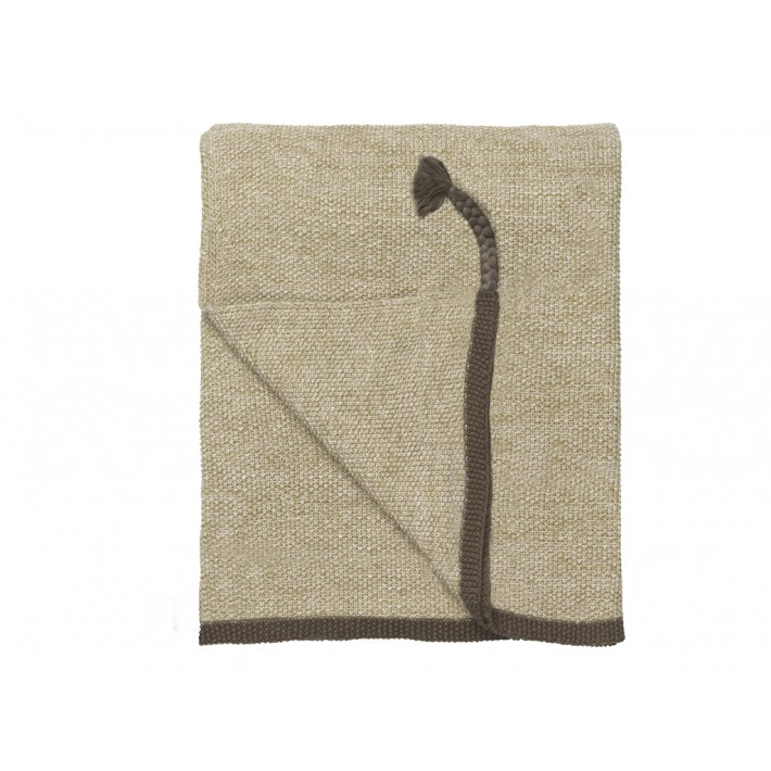 Astrid Knitted Throw-Spring Leaf