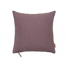 Cotton Hand Loom Cushion-Lavender
