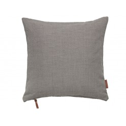Cotton Hand Loom Cushion-Mud