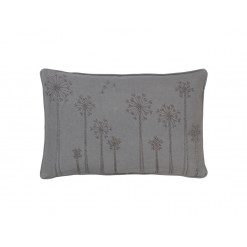 Embroidered Dandelion Cushion