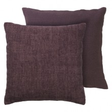 Heavy Linen Cushion-Grape