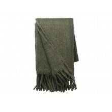 Mathea Knitted Throw-Army