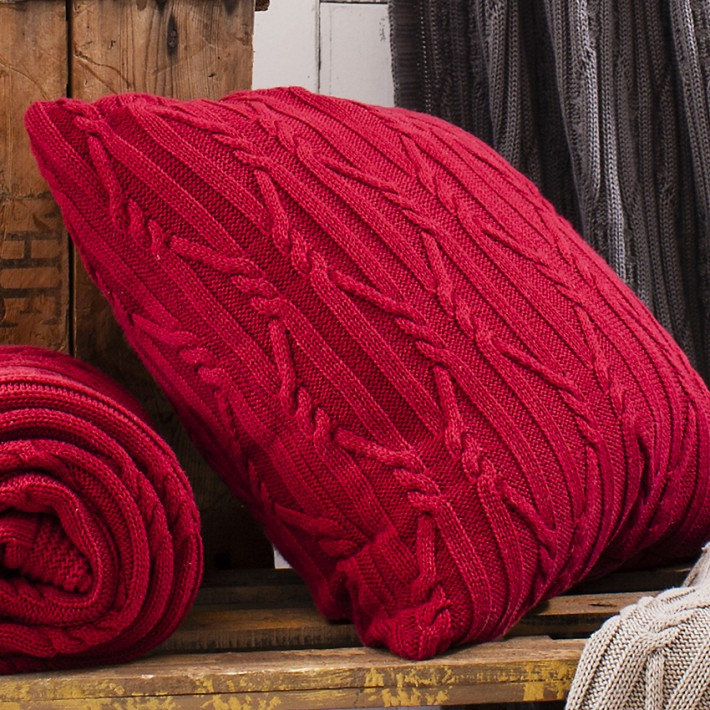 Arran Cushion-Red