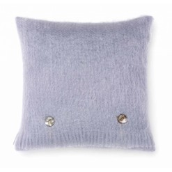 Blue Dusk Mohair Cushion
