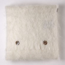 Natural Mohair Cushion
