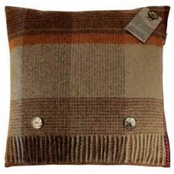 Patchwork Check Natural Cushion
