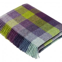 Harlequin Blackcurrant Throw
