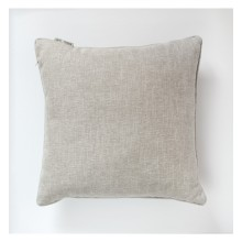 Textured Piped Cushion - Natural