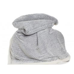 Arboarth Sherpa Throw-Charcoal