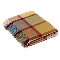 Country House Throw-Pateley Ochre