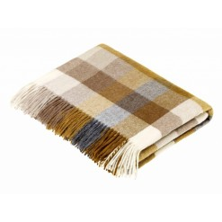 Harlequin Gold Throw