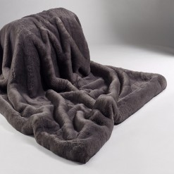 Russian Blue Throw