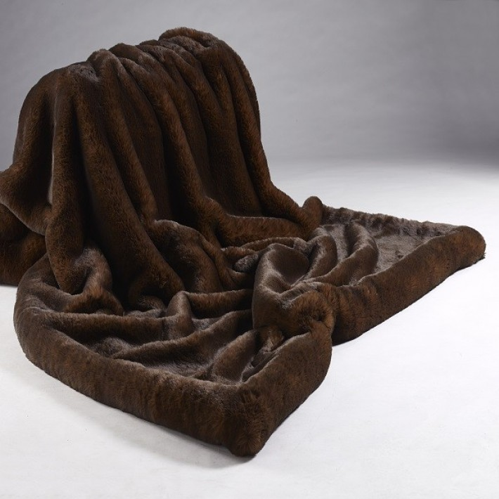 Brown Bear Throw