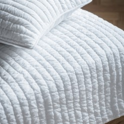 Linear Quilted Bedspread
