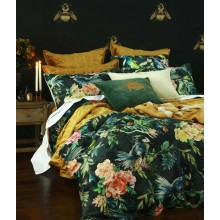 Meeka Comforter Set-Rich Gold