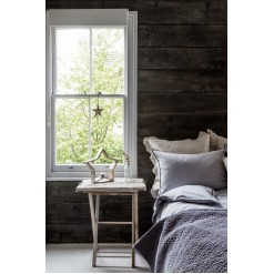 Vancouver Grey Brushed Cotton Pillowcases-Pairs